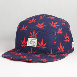 Leafs n Stripes 5 Panel Cap