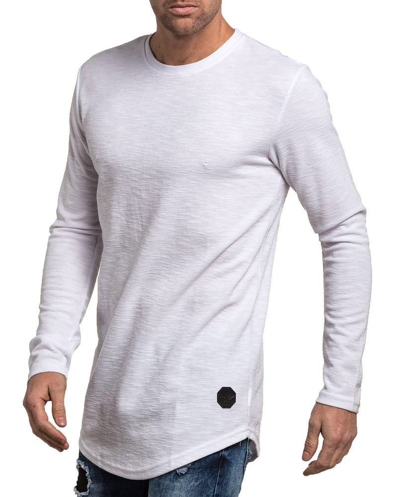 T-shirt homme blanc oversize