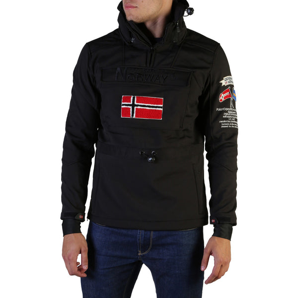Veste softshell noir Geographical Norway - Terreaux_man