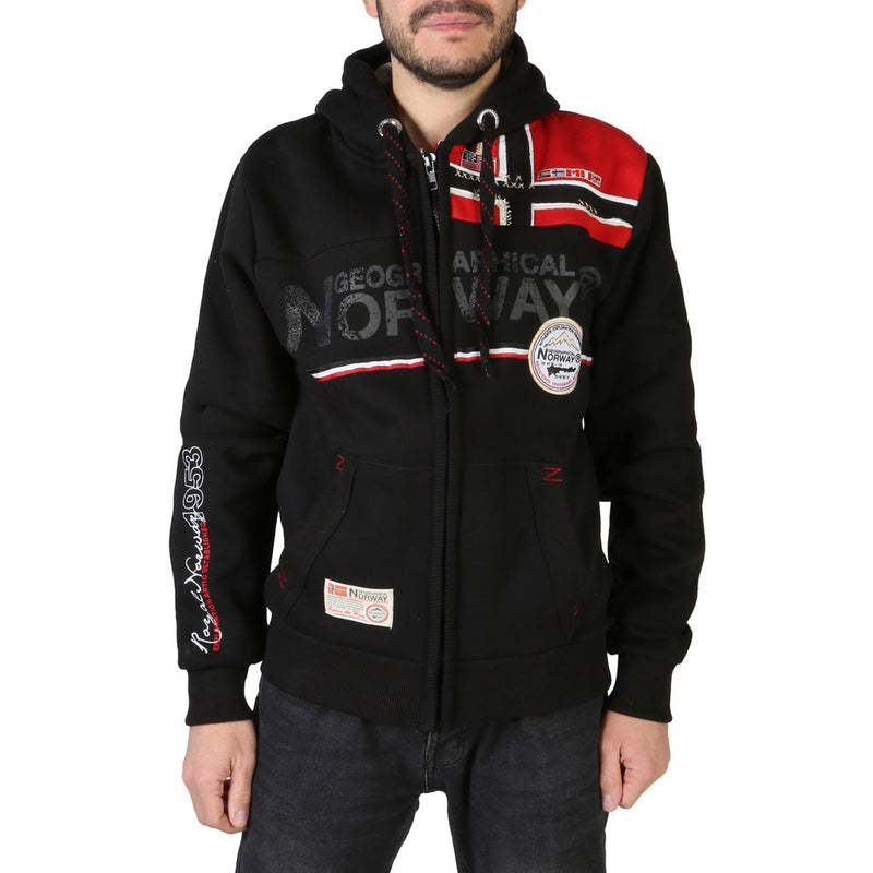 Sweat molleton gilet Geographical Norway - Faponie100BS_man