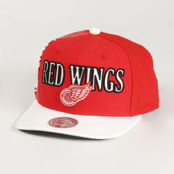 Laser Stich Red Wings Cap