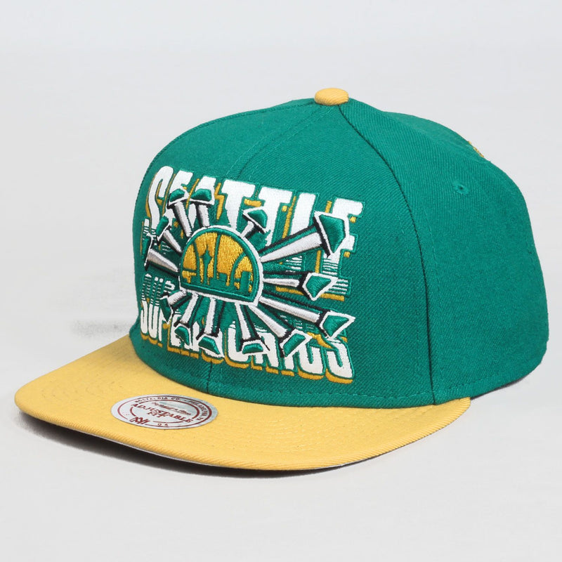Backboard Break Supersonics Cap