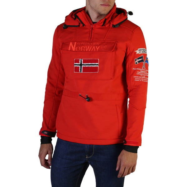 Veste softshell rouge Geographical Norway - Terreaux_man