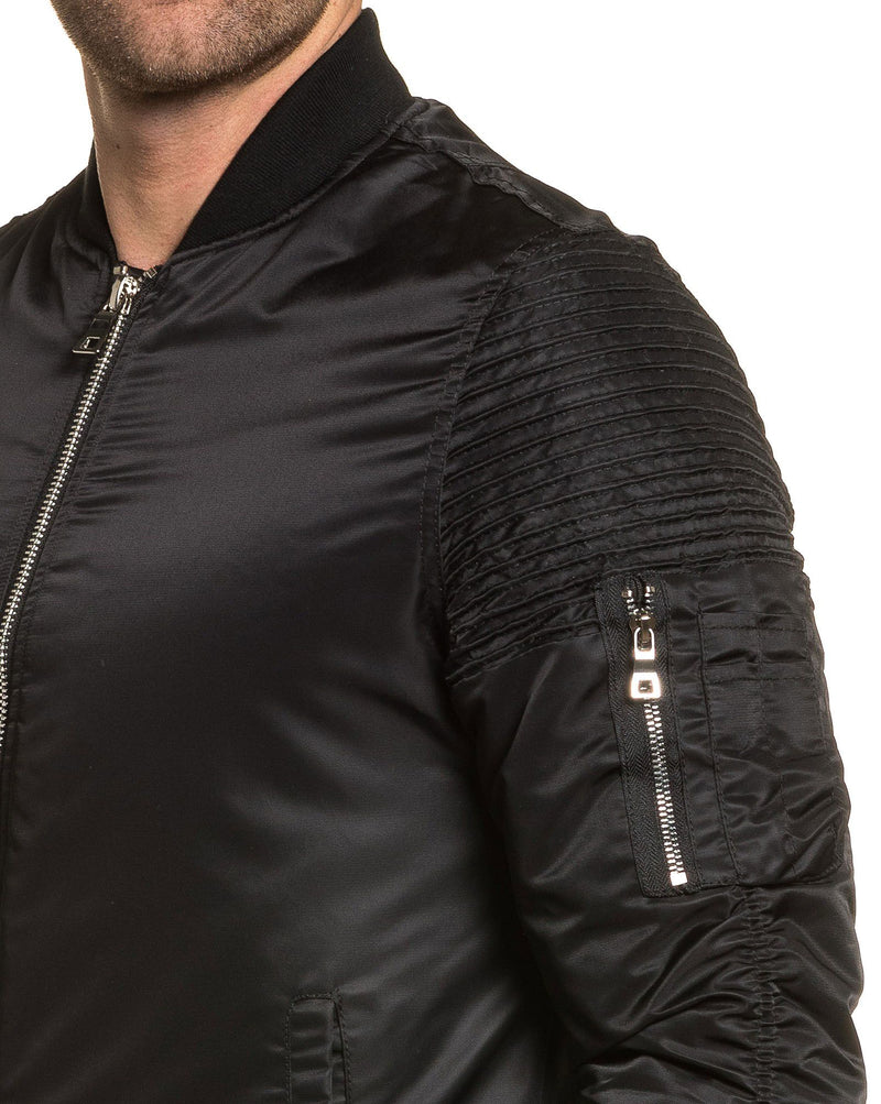 Bombers marque homme fashion noir