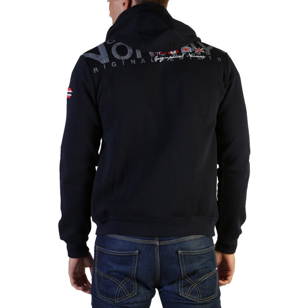 Sweat broderie zip et à capuche Geographical Norway - Fespote100_man