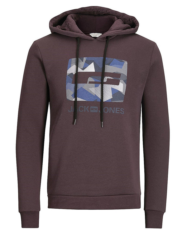 Sweat homme coloré bordeau