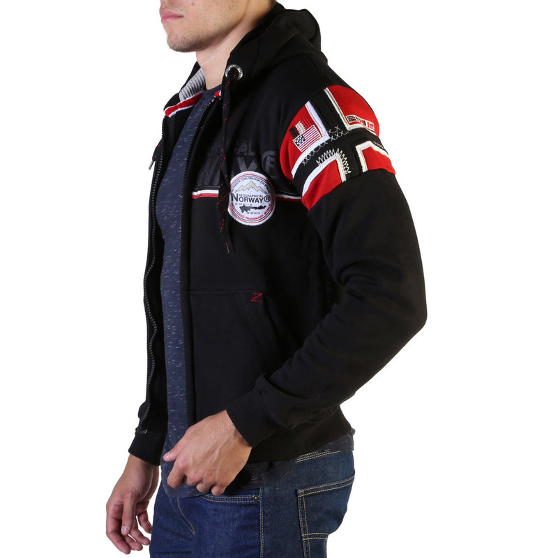 Sweat zippé capuche Geographical Norway - Faponie100_man