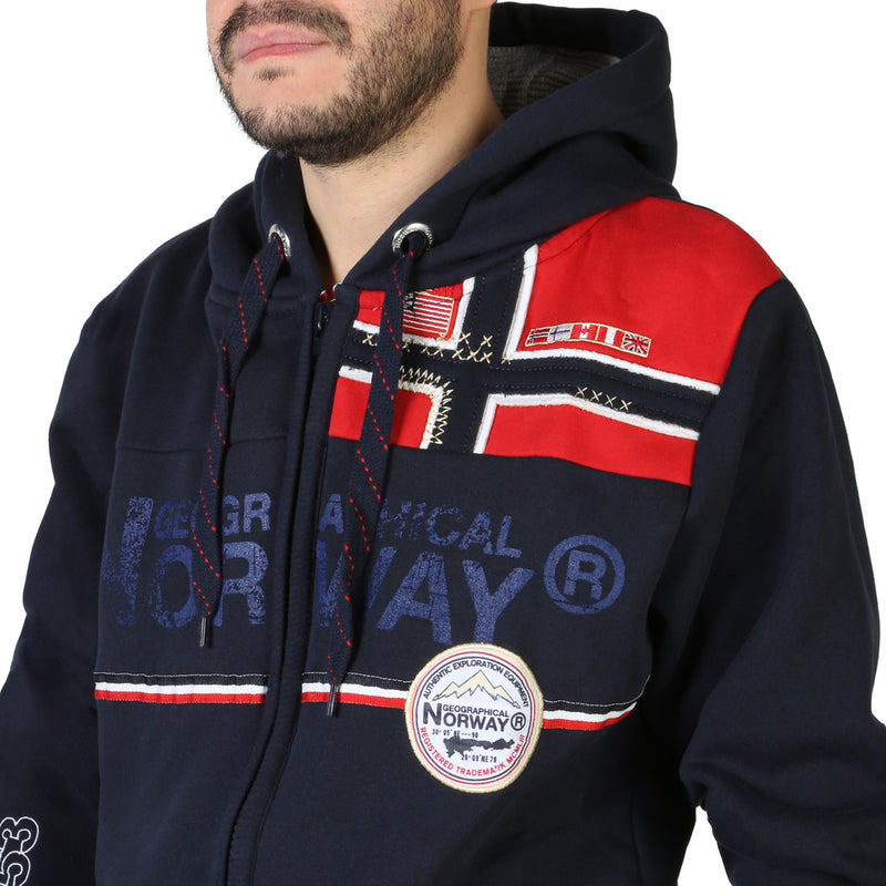 Gilet sweat Geographical Norway - Faponie100BS_man