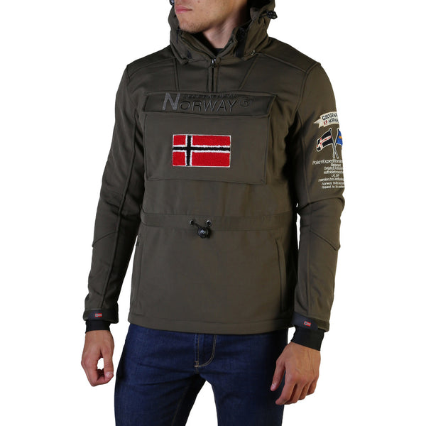Veste kaki homme softshell Geographical Norway - Terreaux_man