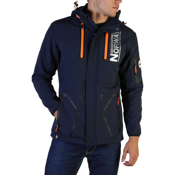 Veste coupe vent bleu marine pour homme Geographical Norway - Tyreek_man