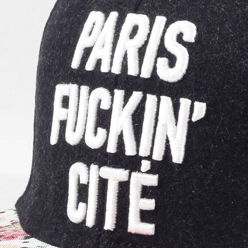 Paris Throwback Cap