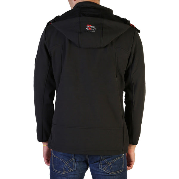 Veste softshell noir Geographical Norway - Tyreek_man