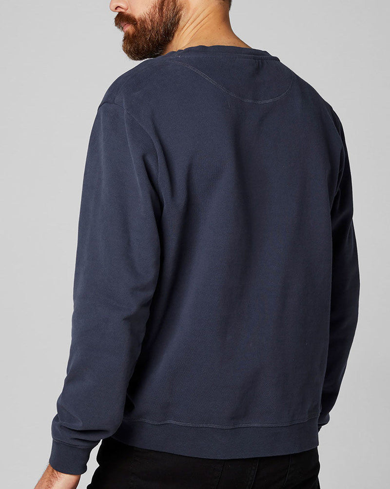 Pull homme 34000 anthracite impression marque