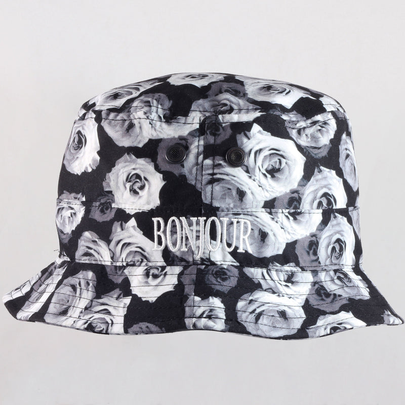 White Roses Bucket Hat