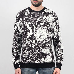 All Over Moon Crewneck Sweater