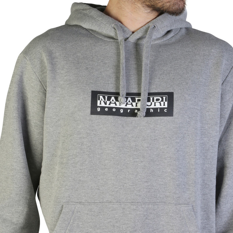 Sweat molleton gris Napapijri - BOX H_N0YKBT