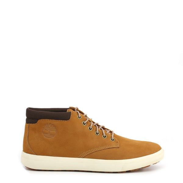 Chaussures demi montante camel marque Timberland - ASHWOOD-PRK
