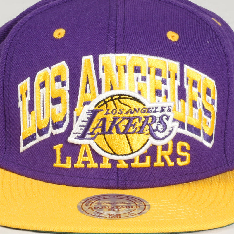 2X Arch Lakers Cap