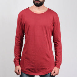 Long Shaped Fashion L/S Tee