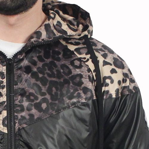 Print Windbreaker Jacket