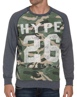 Sweat Col Rond Camouflage