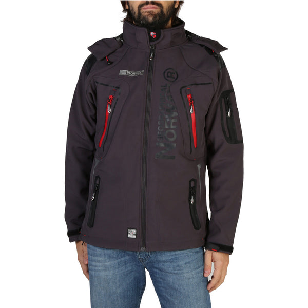 Veste softshell gris foncé Geographical Norway - Turbo_man