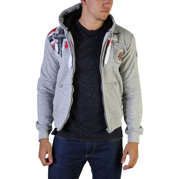 Sweat gilet zippé molleton Geographical Norway - Fespote100_man