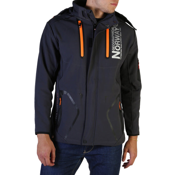 Veste softshell gris foncé Geographical Norway - Tyreek_man