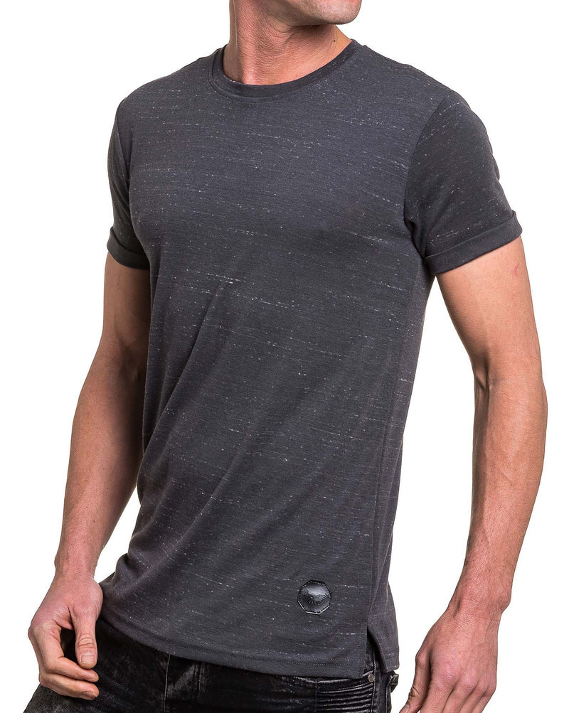 Tshirt homme gris chiné fashion