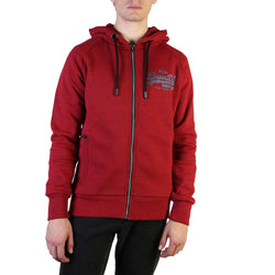 Sweat capuche rouge Superdry - M2000070B