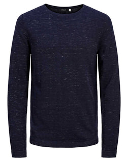 Pullo homme fine maille casual navy