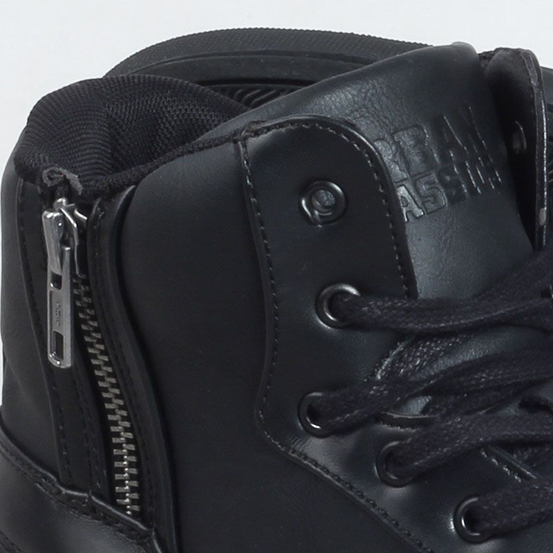 Zipper High Top Shoes