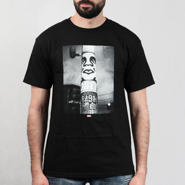 Obey Poster Pole Photo Tee