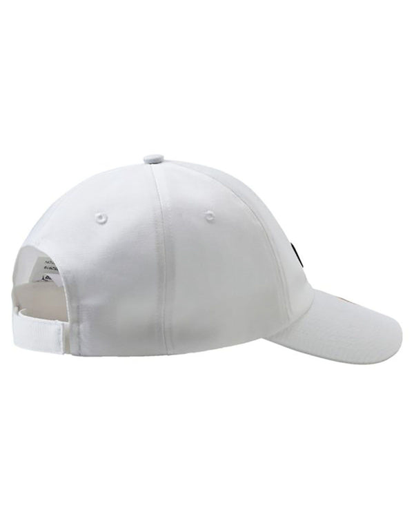 Casquette homme blanche basic logo