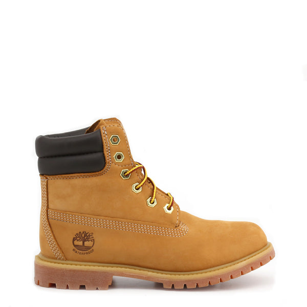 Boots femme camel Timberland - 6IN-DBL-COLLAR