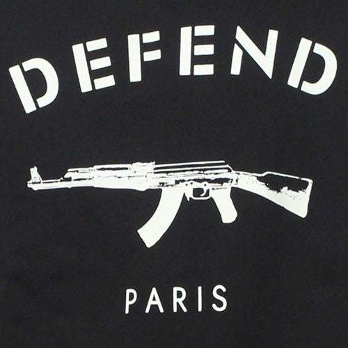 Defend Paris Crew Short Sleeve Sweater