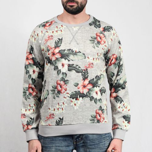 Hibiscus Crew Sweater