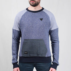 K011 Roc Blue Crewneck Sweater