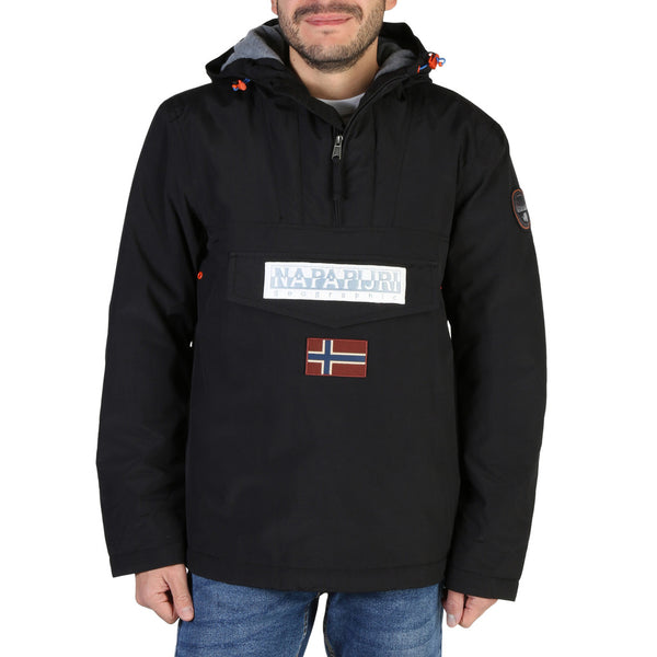 Veste noir type coupe vent Napapijri - RAINFOREST2_NP0A4ECP