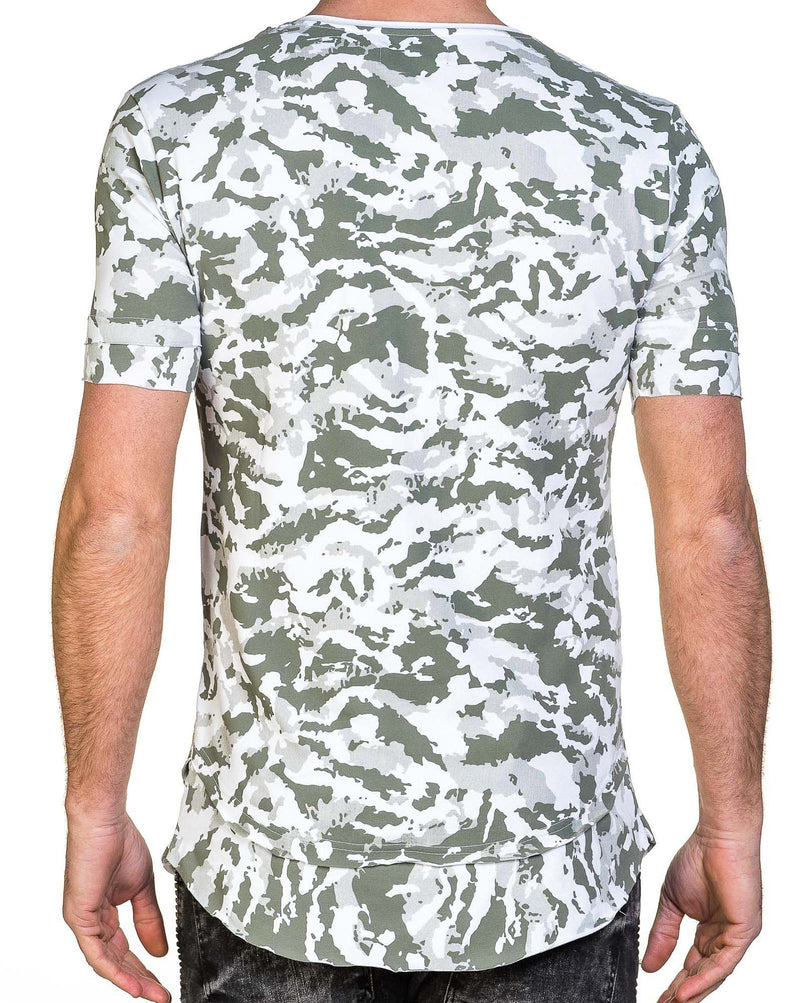 Tee-shirt homme oversize camouflage