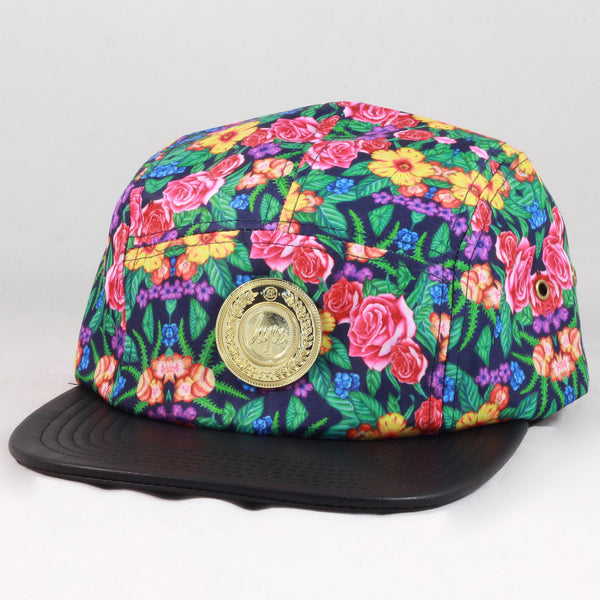 Rose Blossom 5 Panel Cap