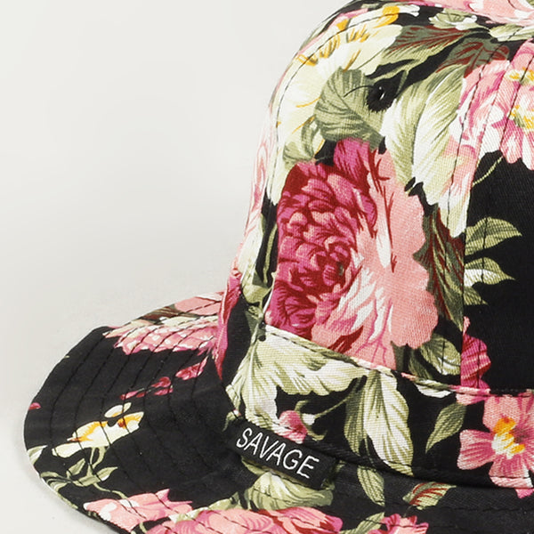 Flower Fishman Bucket Hat