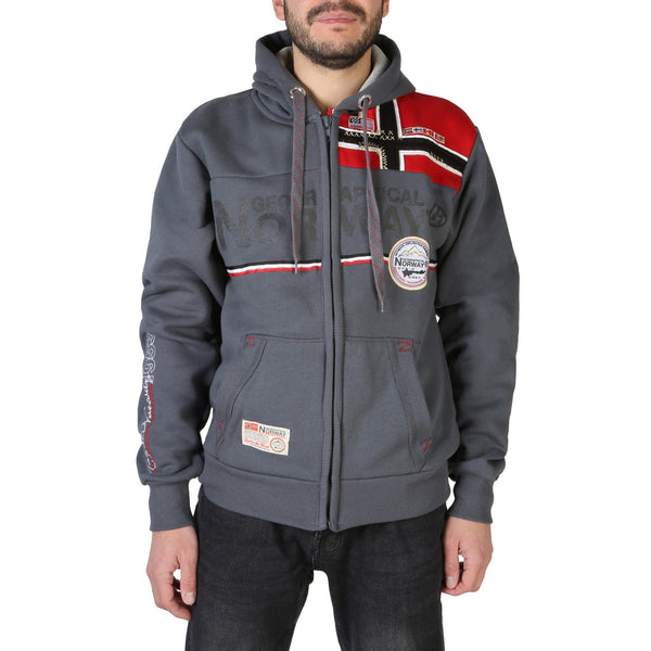 Sweat gilet homme Geographical Norway - Faponie100BS_man