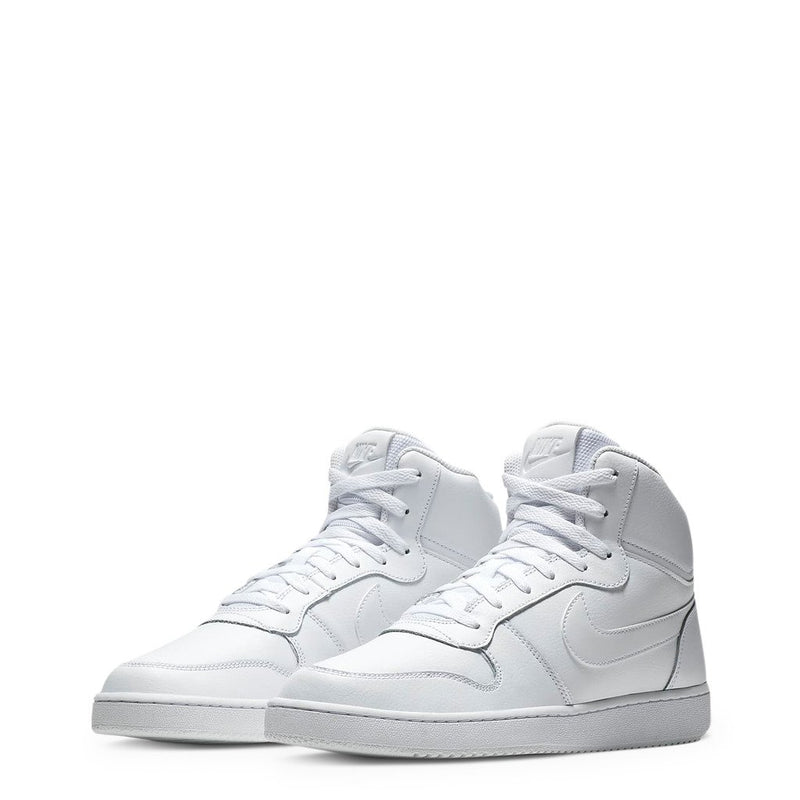 Chaussures Baskets Haute Blanche Nike EbernonMid