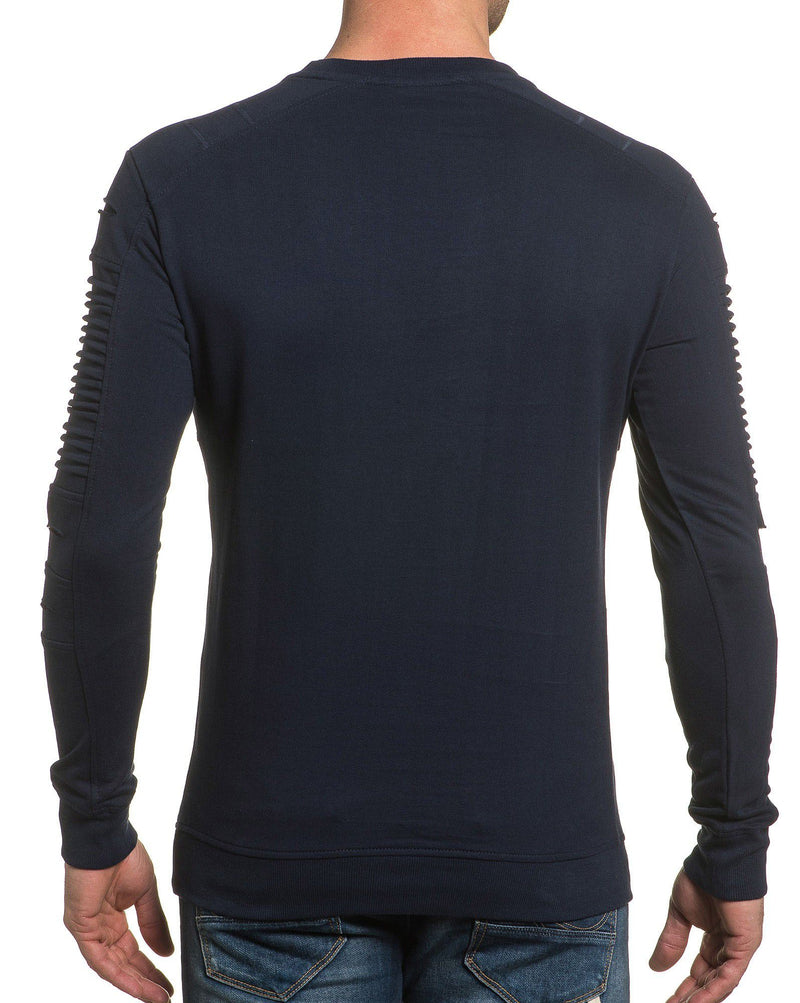 Sweat shirt col rond tendance