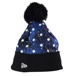 Polka Space Knit New Era Beanie