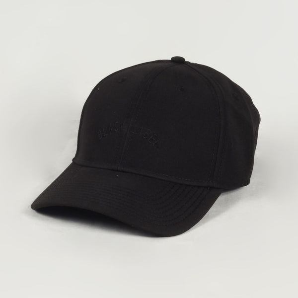 Black Arch Curved Cap