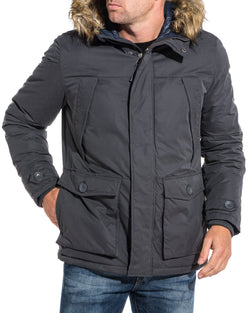 Parka gris de Jack and Jones