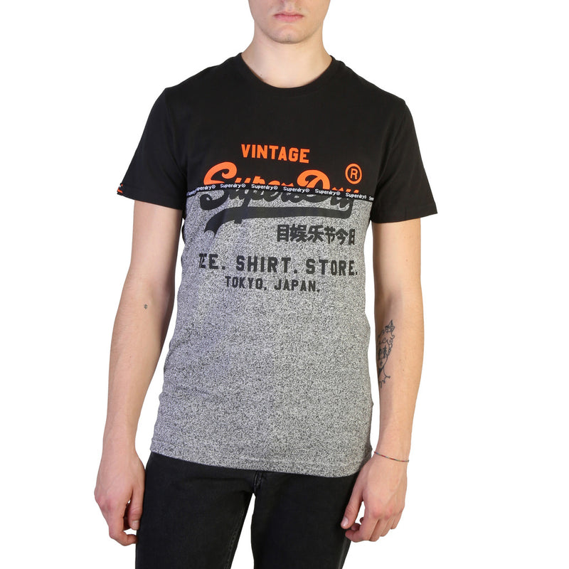 T-shirt bi color homme Superdry - M1000034B