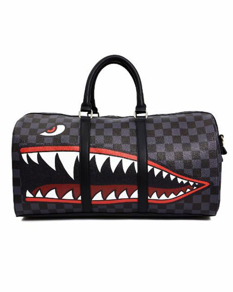 Sac long F9-166 noir impression requin design USA